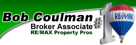Bob Coulman, #1 Broker Associate - RE/MAX Property Pros
